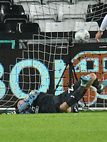 Football - 2019 / 2020 Sky Bet (EFL) Championship - Swansea City vs. Middlesbrough<br /> <br /> Freddie Woodman of Swansea City is beaten by the equaliser from Marcus Tavernier of Middlesbrough , at The Liberty Stadium.<br /> <br /> COLORSPORT/WINSTON BYNORTH