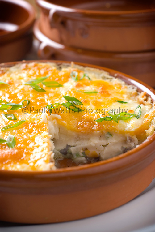 Colorful Quiche in serving dish