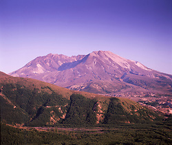 Mt. St. Helens from Coldwater Ridge, Mt. St. Helens National Volcanic Monument, Washington, US