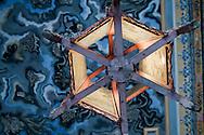 Detail of a lantern in Khai Dinh Tomb, Hue, Vietnam, Southeast Asia