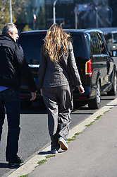 Blake Lively poses for a photographer at the Statue of Liberty, Pont de Grenelle in Paris, Blake was seen with her children getting selfies on some downtime in Paris.<br /><br />25 September 2018.<br /><br />Please byline: Vantagenews.com