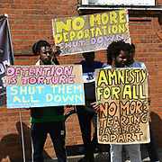 Protest: Stop the deportation flight of indefinite leave to remain British citizen and cross the Eng