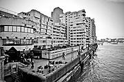 Londyn, 2009-03-05. Bulwary Tamizy