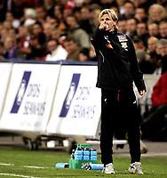 Fotball<br /> Tippeligaen Eliteserien<br /> 15.09.08<br /> Ullevaal Stadion<br /> Vålerenga VIF - Lyn<br /> Debutant - trener Kent Bergersen<br /> Foto - Kasper Wikestad