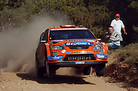 Motor<br /> WRC 2009<br /> Foto: DPPI/Digitalsport<br /> NORWAY ONLY<br /> <br /> MOTORSPORT - WRC 2009 - ACROPOLIS RALLYE OF GREECE - LOUTRAKI (GRE) - 11/06 TO 14/06/2009<br /> <br /> HENNING SOLBERG (NOR) - CATO MENKERUD / FORD FOCUS RS WRC 07 STOBART M-SPORT - ACTION