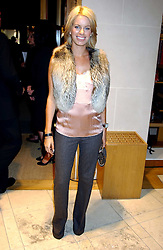"""CAROLINE STANBURY at a party hosted by Christopher Bailey to celebrate the launch of """"The Snippy World of New Yorker Fashion Artist Michael Roberts"""" held at Burberry, 21-23 New Bond Street, London on 20th September 2005.<br /><br />NON EXCLUSIVE - WORLD RIGHTS"""