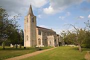 Parish church of Saint Nicholas at the village of Rattlesden, Suffolk, England
