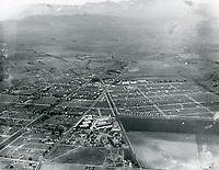 1921 Aerial photo of Goldwyn Studios in Culver City
