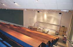 One of the Lecture Theatres in the  Northern General Hospital Sheffield`s Medical Education Centre Building