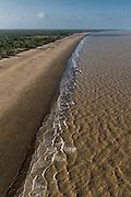 Beach & Atlantic Ocean<br /> East coast<br /> GUYANA<br /> South America
