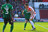 John Marquis of Doncaster Rovers (9) in action during the EFL Sky Bet League 1 match between Doncaster Rovers and Coventry City at the Keepmoat Stadium, Doncaster, England on 4 May 2019.