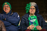 Northern Ireland fans ahead of the UEFA European 2020 Qualifier match between Northern Ireland and Estonia at National Football Stadium, Windsor Park, Northern Ireland on 21 March 2019.