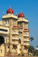 Inde, etat du Karnataka, Mysore, le palais du Maharaja // India, Karnataka, Mysore, Maharaja palace