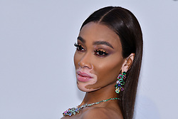 Winnie Harlow attends the amfAR Cannes Gala 2019 at Hotel du Cap-Eden-Roc on May 23, 2019 in Cap d'Antibes, France. Photo by Lionel Hahn/ABACAPRESS.COM