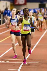 NSAF 2014 New Balance Nationals Indoor, girls 800 meters, Fray