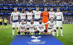 April 30, 2019 - London, England, United Kingdom - Tottenham Hotspur Team shoot during UEFA Championship League Semi- Final 1st Leg between Tottenham Hotspur  and Ajax at Tottenham Hotspur Stadium , London, UK on 30 Apr 2019. (Credit Image: © Action Foto Sport/NurPhoto via ZUMA Press)