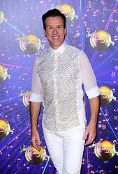 Anton Du Beke arriving at the red carpet launch of Strictly Come Dancing 2019, held at BBC TV Centre in London, UK.