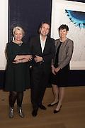 JUDITH EVERETT;  GAVIN TUCK; ALISON NIMMO, THAW, An exhibition of photographs of the arctic polar ice cap by Timo Lieber. Bonhams. New Bond St. London. 21 February 2017