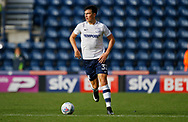 Josh Earl of Preston North End during the EFL Sky Bet Championship match between Preston North End and Millwall at Deepdale, Preston, England on 23 September 2017. Photo by Paul Thompson.