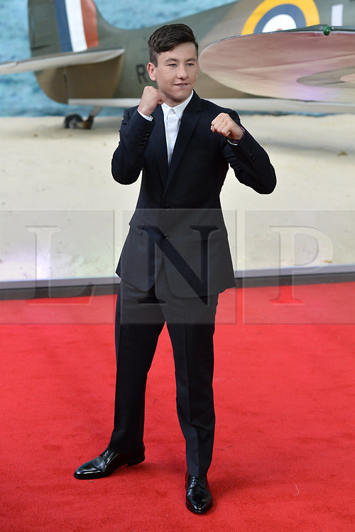 © Licensed to London News Pictures. 13/07/2017. London, UK. SIR KENNETH BRANAGH attends the Dunkirk World Film Premiere. Photo credit: Ray Tang/LNP