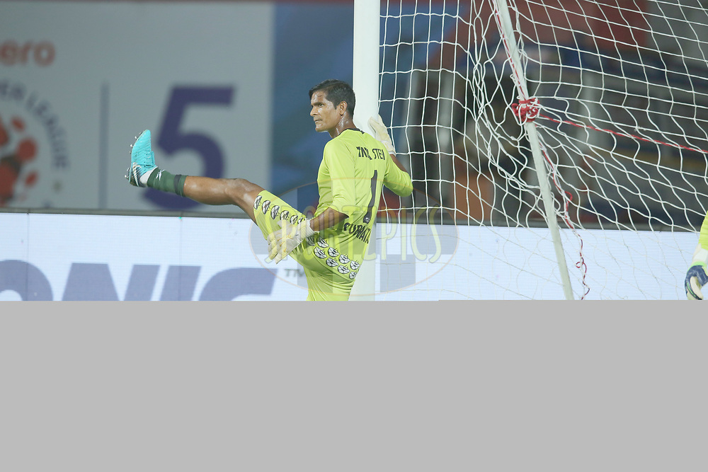 during match 25 of the Hero Indian Super League 2018 ( ISL ) between Jamshedpur FC and FC Goa held at JRD Tata Sports Complex, Jamshedpur, India on the 1st November  2018<br /> <br /> Photo by: Deepak Malik /SPORTZPICS for ISL