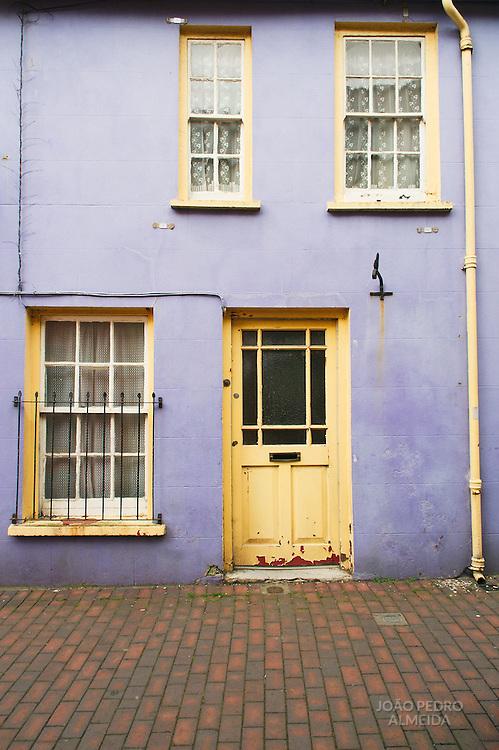 Colorful facade at Kinsale