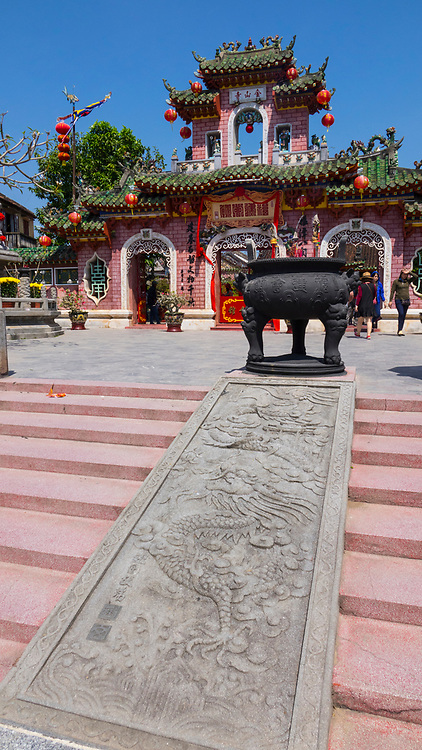 Quan Cong Temple,fFounded in 1653, this small temple is dedicated to Quan Cong, an esteemed Chinese general who is worshipped as a symbol of loyalty, sincerity, integrity and justice, Hoi An, Vietnam