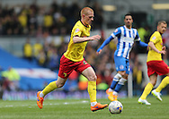 Ben Watson during the Sky Bet Championship match between Brighton and Hove Albion and Watford at the American Express Community Stadium, Brighton and Hove, England on 25 April 2015.
