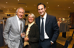 Left to right, HAROLD & STEPHANIE TILLMAN and their son MITCH TILLMAN they own Jaeger at an exhibition of photographs entitled 'Hispanic in Hollywood' at Jaeger's Flagship store 200 Regent Street, London on 30th August 2006.<br /><br />NON EXCLUSIVE - WORLD RIGHTS