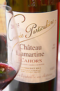 Cuvee Particuliere Chateau Lamartine Cahors, Gayraud et Fils, France Cahors Lot Valley France