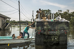 September 3, 2017 - Orange, Texas, U.S. - 14th Marines and MWSS-473 transport supplies to Hurricane relief efforts. (Credit Image: ? Niles Lee/Marines via ZUMA Wire/ZUMAPRESS.com)