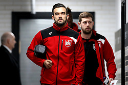 Marlon Pack of Bristol City arrives at The iPro stadium ahead of the Sky Bet Championship fixture with Derby County - Mandatory by-line: Robbie Stephenson/JMP - 11/02/2017 - FOOTBALL - iPro Stadium - Derby, England - Derby County v Bristol City - Sky Bet Championship