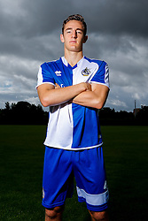 Tom Lockyer of Bristol Rovers poses during a portrait session ahead of the 2015/16 Sky Bet League Two campaign - Mandatory byline: Rogan Thomson/JMP - 07966 386802 - 03/08/2015 - FOOTBALL - The Lawns Training Ground - Bristol, England - Sky Bet League Two.