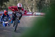 #993 (NAGASAKO Yoshitaku) JPN at Round 10 of the 2019 UCI BMX Supercross World Cup in Santiago del Estero, Argentina