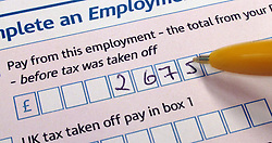 File photo dated 22/06/10 of a Self Assessment form Tax Return from HM Revenue and Customs (HMRC), as a study has found that men are significantly more likely than women to try to evade paying tax.