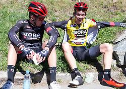 20.04.2016, Aras, AUT, 40. Giro del Trentino Melinda, 2. Etappe von Arno nach Aras, im Bild Gregor Mühlberger (AU), Patrick Konrad (AUT)// during the 2nd stage from Arco to Anras of 40th Giro del Trentino. Auras, Austria on 2015/04/20. EXPA Pictures © 2015, PhotoCredit: EXPA/ Johann Groder