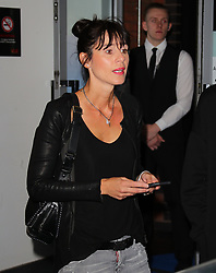 Cristina Serra arriving for the All or Nothing: Manchester City, world premiere at Vue Printworks, Manchester.