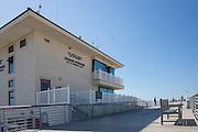 Lifeguard Operations Building on Hermosa Beach Pier