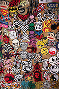Display of badges likely to appeal to young people, UK