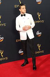 Rami Malek  bei der Verleihung der 68. Primetime Emmy Awards in Los Angeles / 180916<br /> <br /> *** 68th Primetime Emmy Awards in Los Angeles, California on September 18th, 2016***