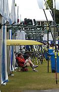Henley Royal Regatta. Henley-on-Thames, ENGLAND, 26.06.2006. Pontoons/ Boat Tents Area GV's.  Photo  Peter Spurrier/Intersport Images.email images@intersport-images.com... Henley Royal Regatta, Rowing Courses, Henley Reach, Henley, ENGLAND [Mandatory credit; Peter Spurrier/Intersport Images] 2006 . HRR. ...........Rowing Courses, Henley Reach, Henley, ENGLAND. HRR