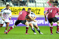 Davit Kubriashvili - 11.12.2014 - Stade Francais / Newcastle Falcons - European Rugby Challenge Cup<br />