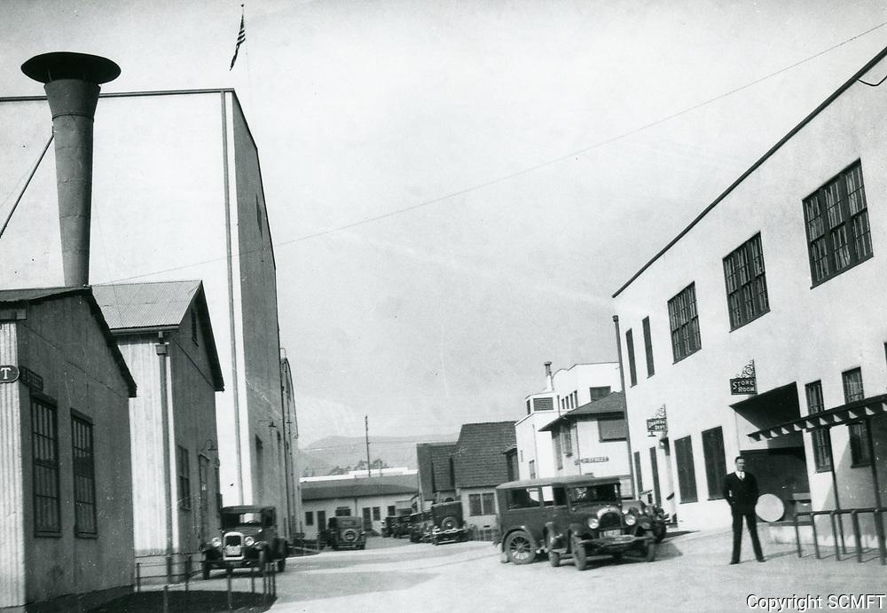 1926 Robert Florey at Pickford-Fairbanks Studios
