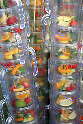 Pimm's jugs ahead of day five of Royal Ascot at Ascot Racecourse.