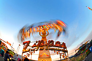 500px Photo ID: 4398451 - long exposure of the zipper ride at the fair.