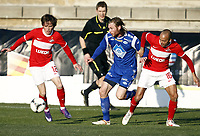 Fotball, 4. februar 2012 , Copa del Sol<br /> Molde - Spartak Moskva 0-3<br /> Demy de Zeeuw (16) , SM<br /> Ananidze Jano , SM<br /> Jo Inge Berget , Molde<br /> <br /> , Spartak Moscow