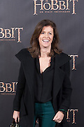 Nuria March at The Hobbit premiere in Madrid