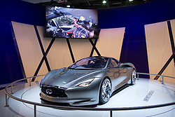 Infiniti electric concept Emerge-E car at Paris Motor Show 2012