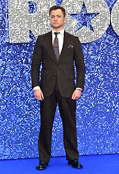 Taron Egerton attending the Rocketman UK Premiere, at the Odeon Luxe, Leicester Square, London.