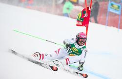 Christian Hirschbuehl of Austria competes during 1st run of Men's GiantSlalom race of FIS Alpine Ski World Cup 57th Vitranc Cup 2018, on March 3, 2018 in Kranjska Gora, Slovenia. Photo by Ziga Zupan / Sportida